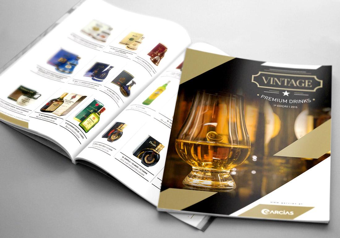 Brochura Garcias Vintage