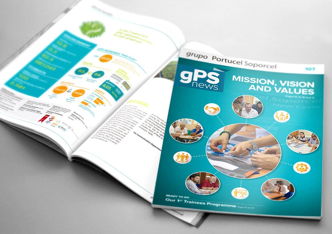 Brochura gps News Portucel